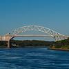 Sagamore Bridge from the Cape Cod Canal