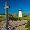 WW II Cross & Long Point Lighthouse