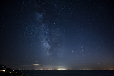 Cape Cod Bay with Milky Way