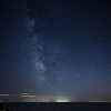 Cape Cod Bay with Milky Way