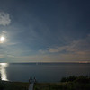Cape Cod Bay nighttime panorama