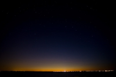 Big Dipper over Provincetown
