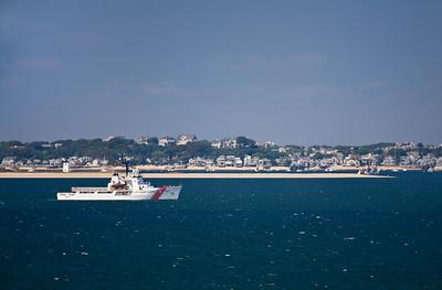Coast Guard cutter @ Long Point