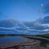 Hatch's Harbor blue light
