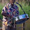 steel drummer Truro summer concert