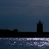 Long Point Lighthouse silhouette