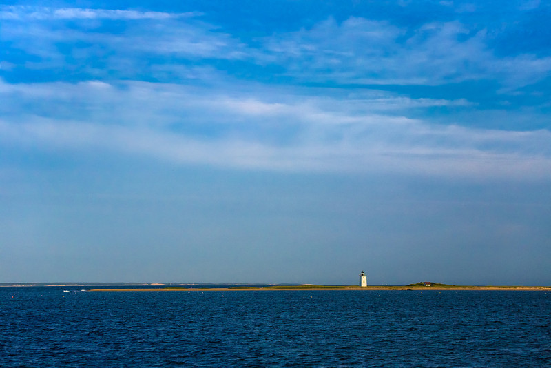 lonely Long Point lighthouse