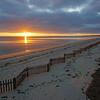 zigzag sunset