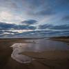 advancing tide Herring Cove Beach