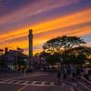 Lopes Square sunset