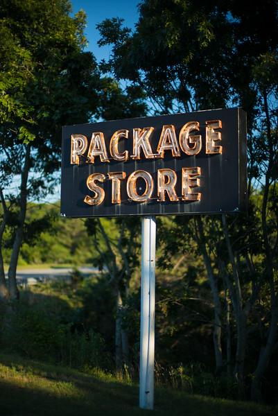 Pamet Valley Package Store old neon sign