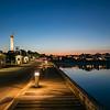 MacMillan Wharf twilight