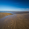 dead crab ripples & ocean