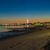 East End Provincetown beach at dusk