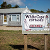 White Caps Cottages sign
