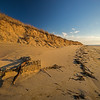 buried lobster trap The Gut beach Wellfleet