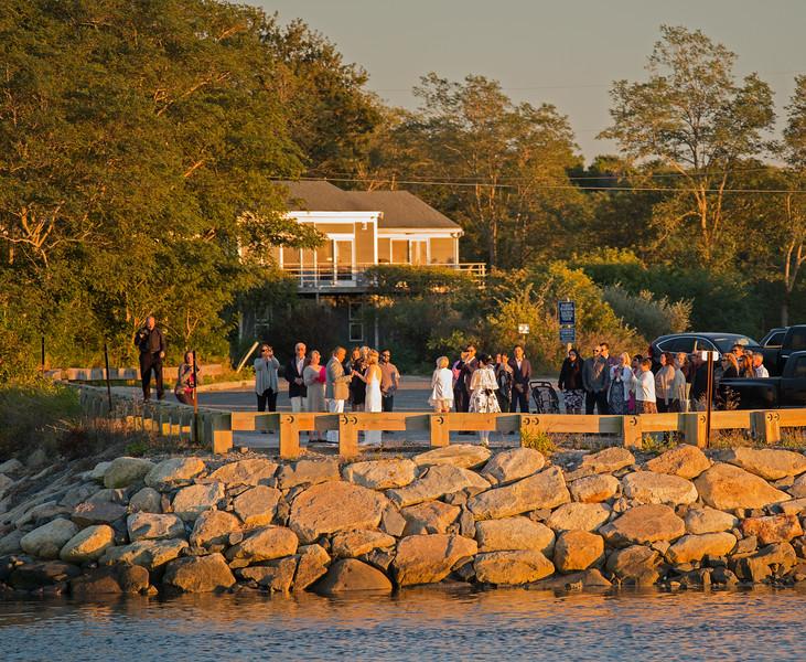 wedding at Pamet Harbor