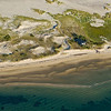 beach house Nauset Beach from the air