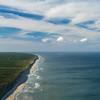 South Wellfleet Atlantic coast from the air
