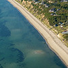 Great Hollow Beach from the air