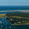 Stage Harbor & Morris Island from the air