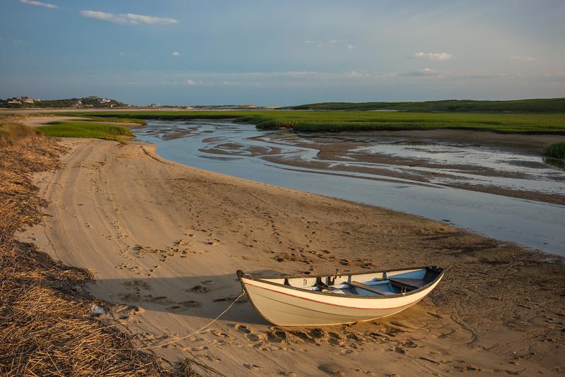 dory beached on Little Pamet
