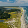 Nauset Beach looking north from the air