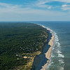 Lecount and White Crest Beach Wellfleet from the air
