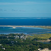 Moors Breakwater West End of Provincetown from the air