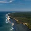 Atlantic coast Wellfleet from the air