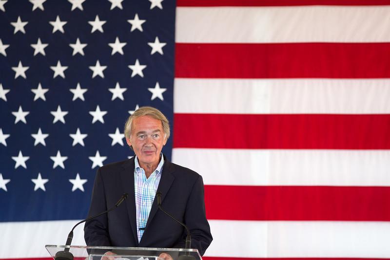 Senator Ed Markey at Hillary Clinton event Provincetown August 2016