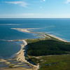 Jeremy Point Wellfleet from the air