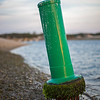 channel marker Pamet River stranded by tide