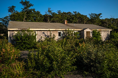 abandoned house former Truro Air Force Base