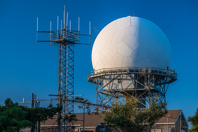 FAA VORTAC radar dome