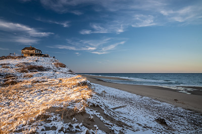 Ballston Beach snow