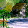 """Stoney Brook Mill - Brewster<br /> 11"""" x 15"""" Sold <br /> Prints Available"""