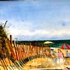 "Bay View Beach<br /> Unframed 11""x15"" Price: $225."