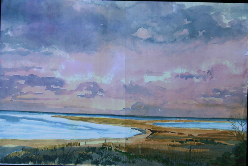 """Changing Tides In Chatham<br /> 22"""" x 27"""" <br /> Sold Prints Available"""