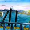 "Rock Harbor In Orleans<br /> 11"" x 15"" Price: $250. Framed"