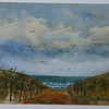 Cloudy Day At Cold Storage Beach<br /> Price: $100. Unframed