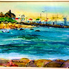 """Harbor View Beach<br /> 11"""" x15"""" Sold<br /> Prints Available"""