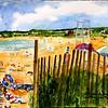 "Corporation Beach 6<br /> 11"" x 15"" Price:$350. Framed"