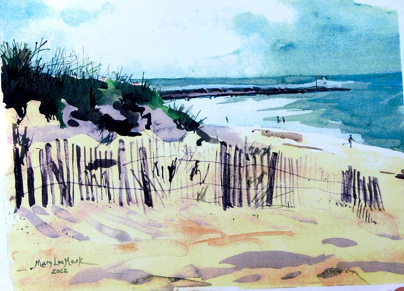 """Cold Storage Beach<br /> 11""""x15"""" NFS<br /> Prints Available"""