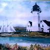 "Nobska Lighthouse<br /> 22"" x 30"" Sold<br /> Prints Available"