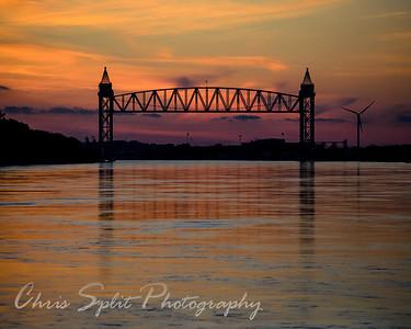 Train Bridge Bourne Massachusetts Jan 2015