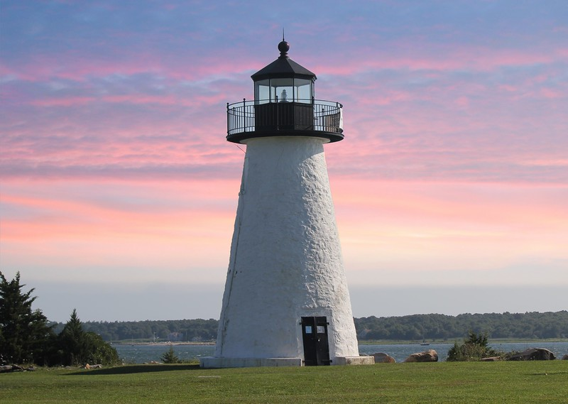 Ned's Point Light - Matapoisett Harbor - Cape Cod