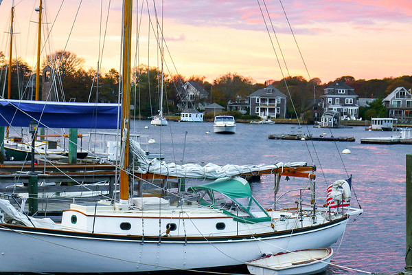 Woods Hole from Captain Kidd