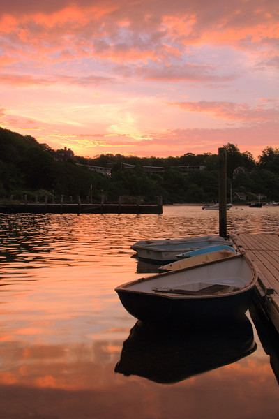 Morning Calm in Little Harbor, Woods Hole, Cape Cod