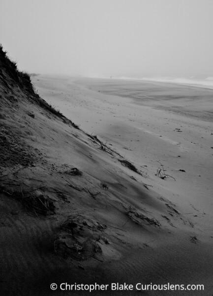 Foggy Beach -  Cape Cod
